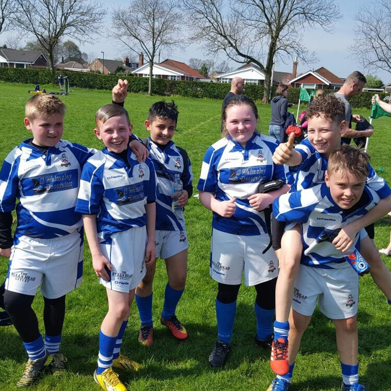 Under 11's away at Ormskirk
