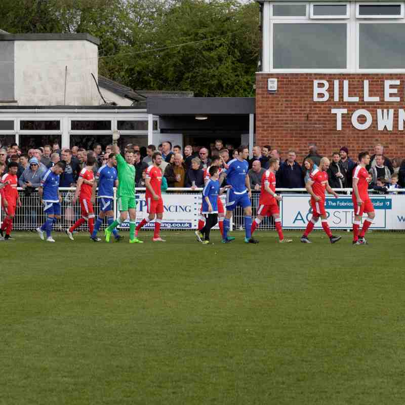 Billericay Town 2 Leiston 0