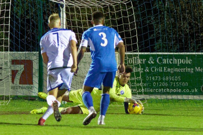 Tamworth 5-0 Leiston - Match Report