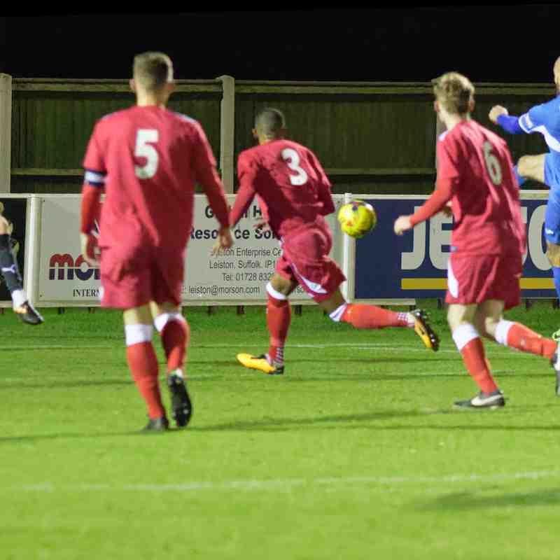 Leiston 6 Haverhill Rovers 1