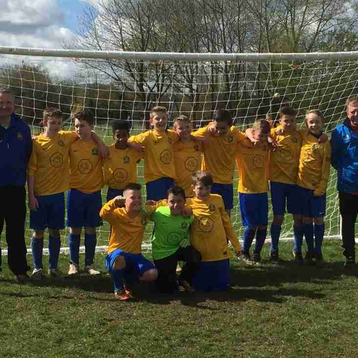 "U12's Win Promotion to ""A Division"""