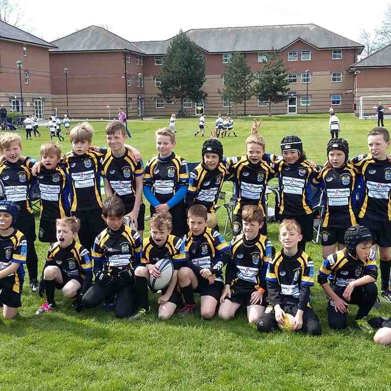 Back to Black tour Chichester 2016 U9s