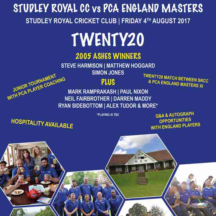 PCA Masters Event - Your Support is Needed