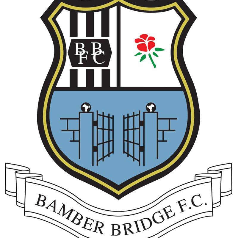 Fixture News: Grantham Town v Bamber Bridge (18 August)