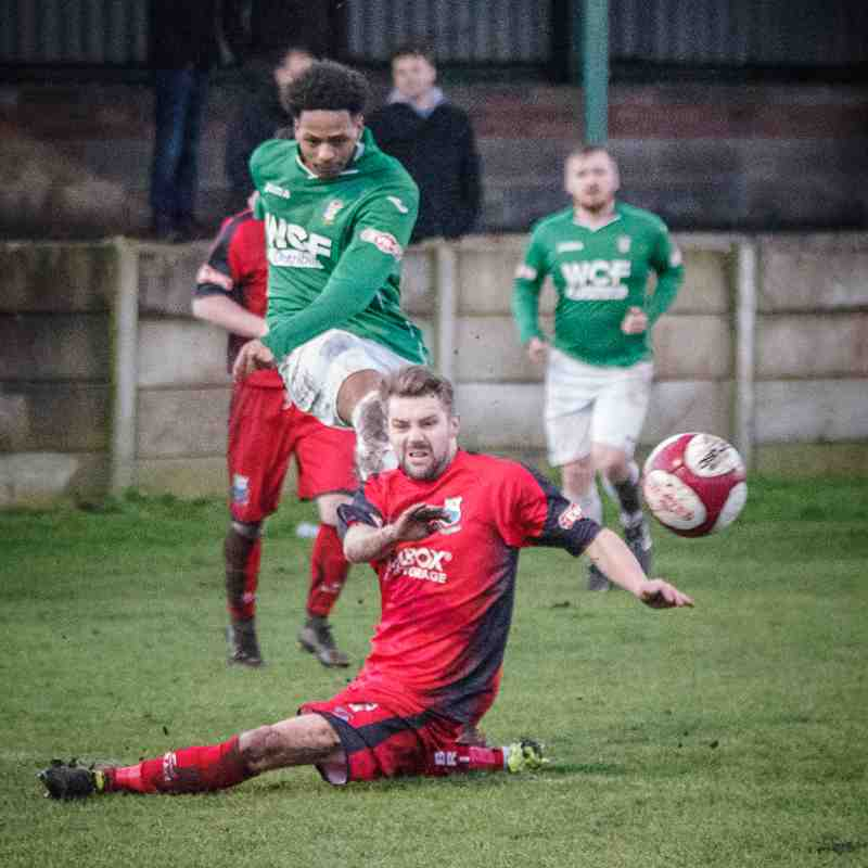 Burscough 1 - Bamber Bridge 3 (28/01/2017)