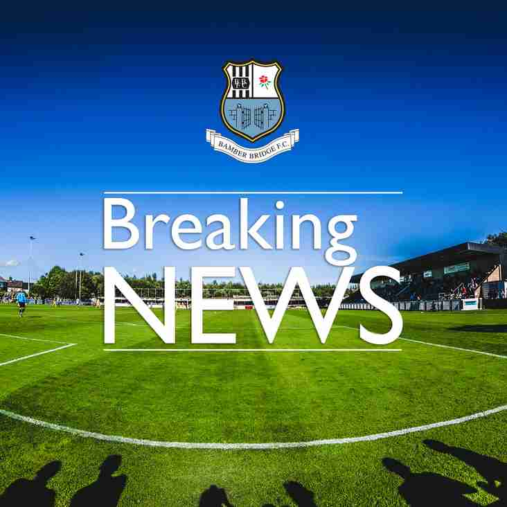 Breaking News:  Two new faces in the Bamber Bridge squad!