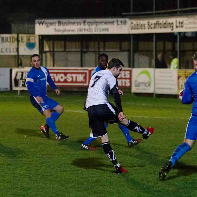 Bamber Bridge 1 - 0 Glossop NE (Integro League Cup, 14/02/17)