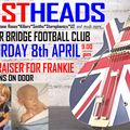 Live Music at BBFC: Lostheads (Playing for Frankie) Sat 8 April
