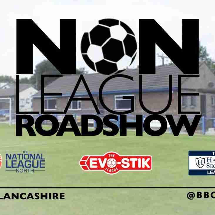 Neil Reynolds to feature on BBC Radio Lancashire's Non-League Roadshow