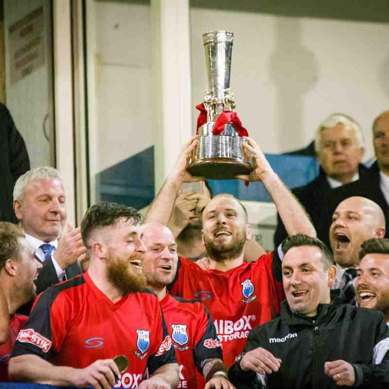 Bamber Bridge 2 - 1 Grantham Town (Integro League Cup Final 2017, 19/04/17)