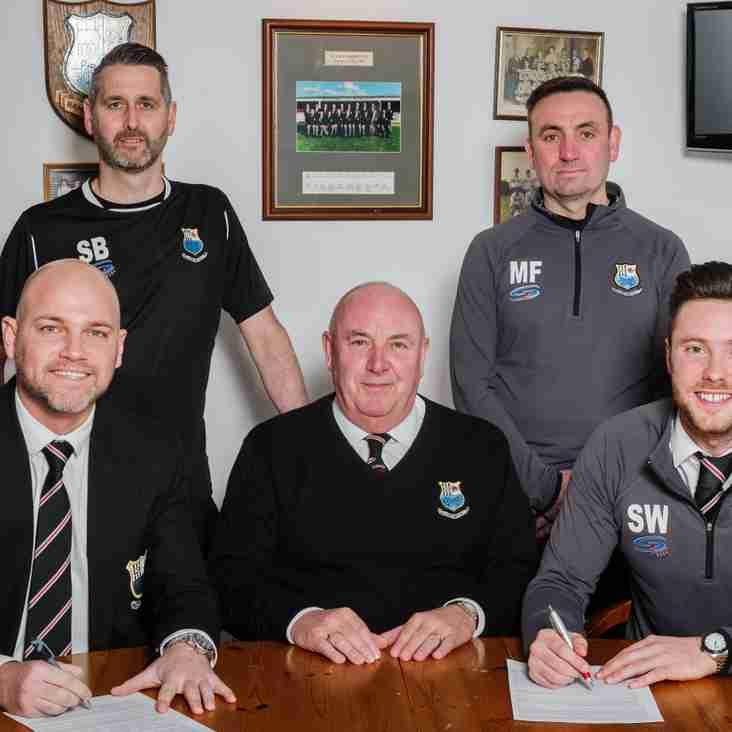 Team News: Bamber Bridge Management Team sign 3 year deal