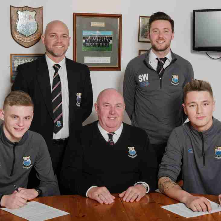 Team News:  Bamber Bridge's rising stars sign new deals.