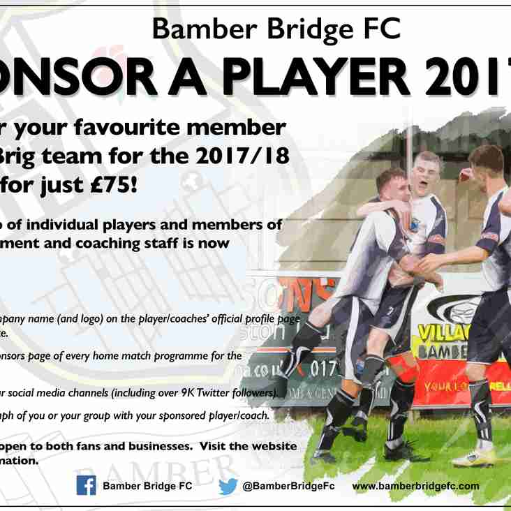 Brig Team 2017/18 Sponsorship Packages Now Available!