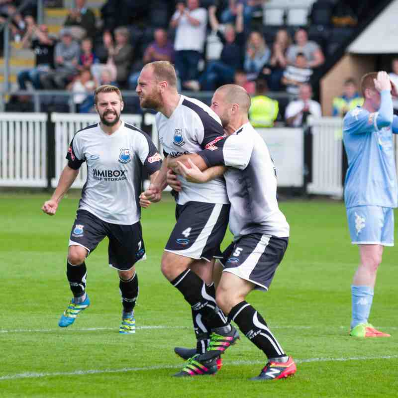 Bamber Bridge 2 - 2 Colwyn Bay (28/08/17)
