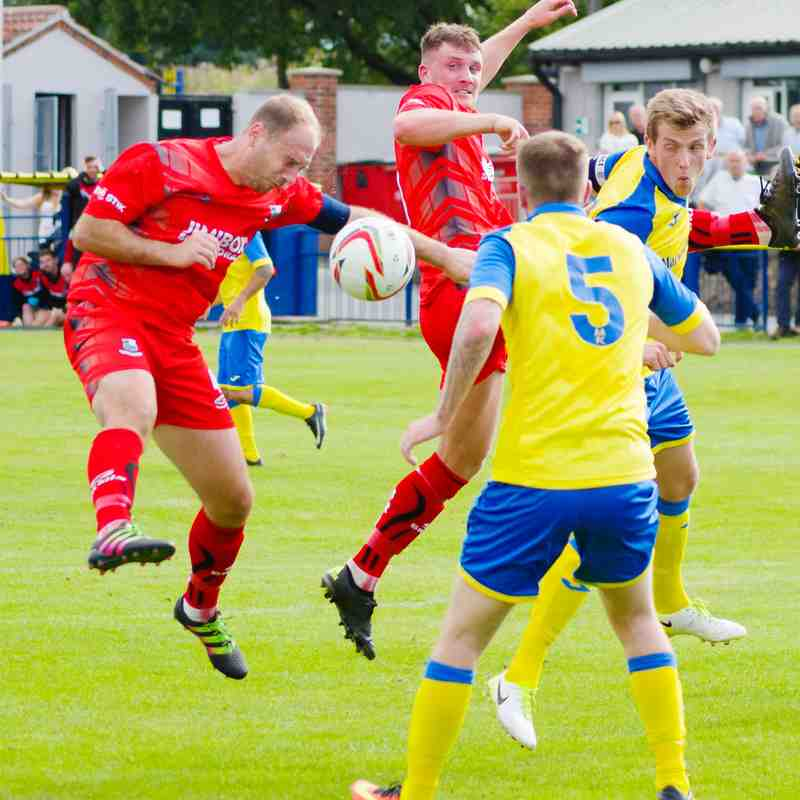 Ashton Athletic 2 - 1 Bamber Bridge (FA Cup 1 QR 02/09/17)