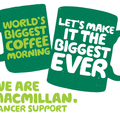 Macmillan Charity Coffee Morning - Wednesday 26 September