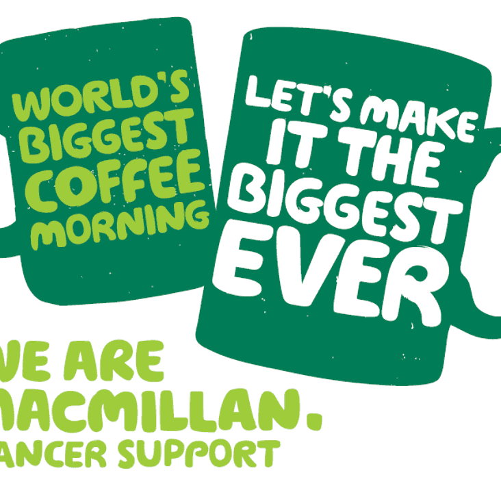 Macmillian Coffee Morning - A Thank You