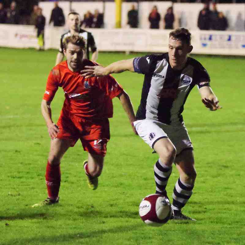 Atherton Collieries 1 - 4 Bamber Bridge (LFA Trophy 06/11/17)