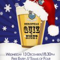 Christmas Quiz Night - Wednesday 13 December (Free Event)
