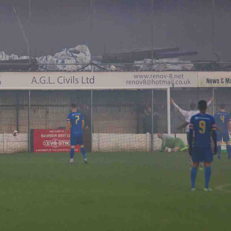 Bamber Bridge 3 - 0 Radcliffe (16/12/17)