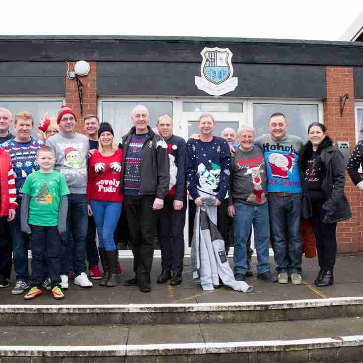 Festive Knits All Round on Christmas Jumper Day 2017