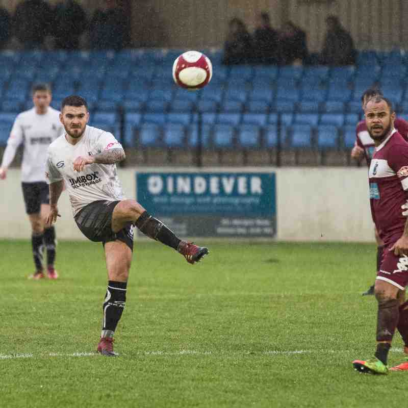 Colwyn Bay 2 - 2 Bamber Bridge (01/01/18)