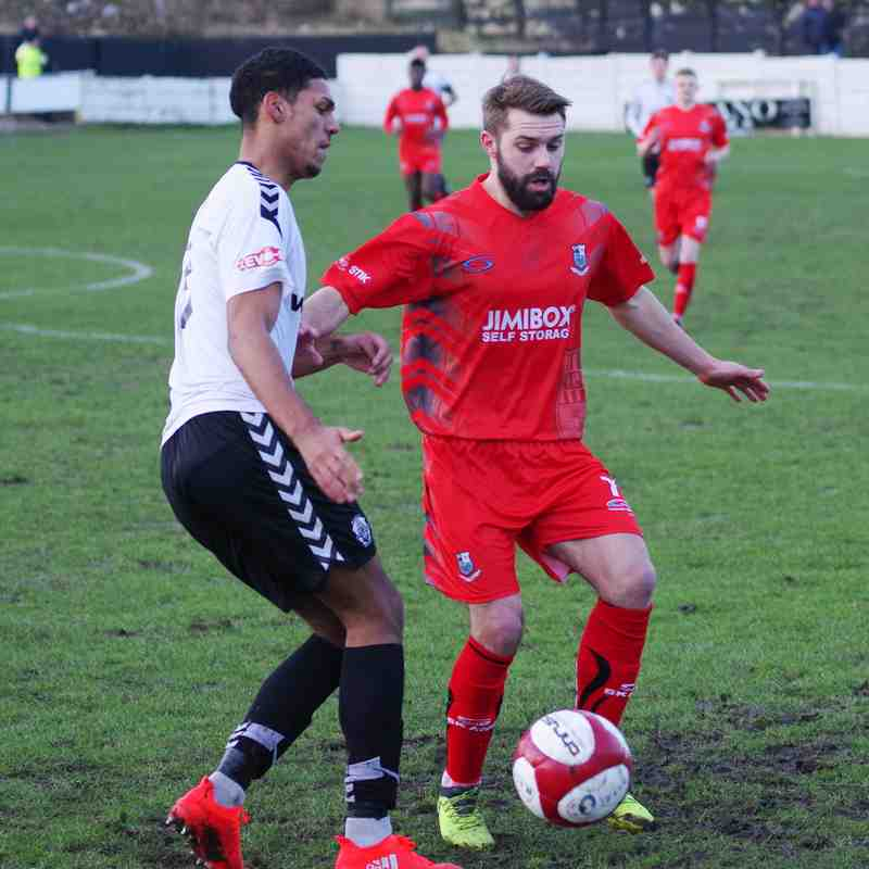 Mossley 1 - 3 Bamber Bridge (06/01/18)