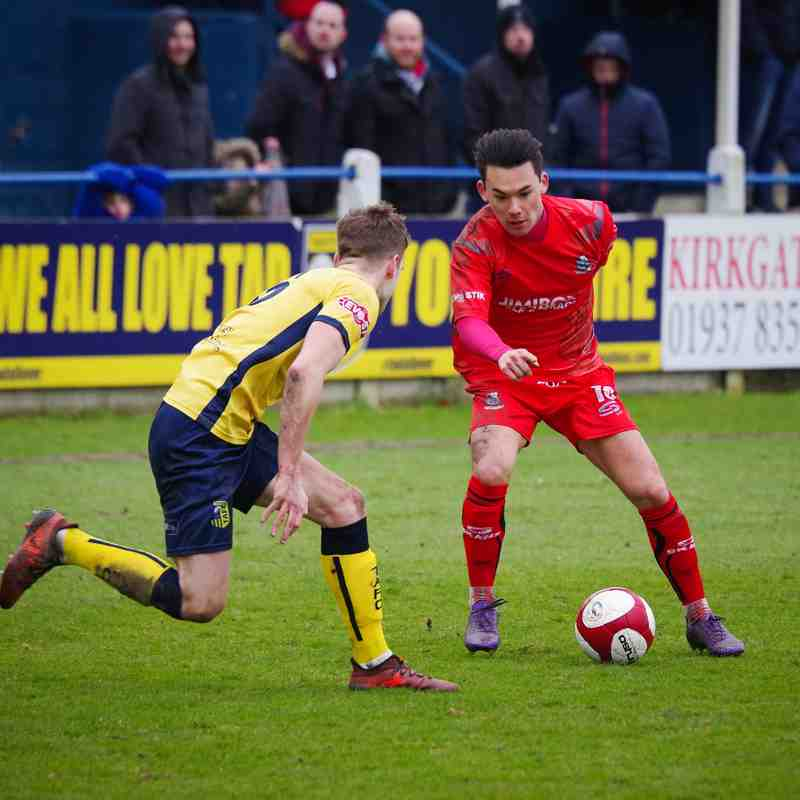 Tadcaster 5 - 0 Bamber Bridge (31/03/18)