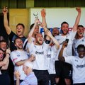 Bamber Bridge 1-0 Prescot Cables.  Play-Off glory for Brig!
