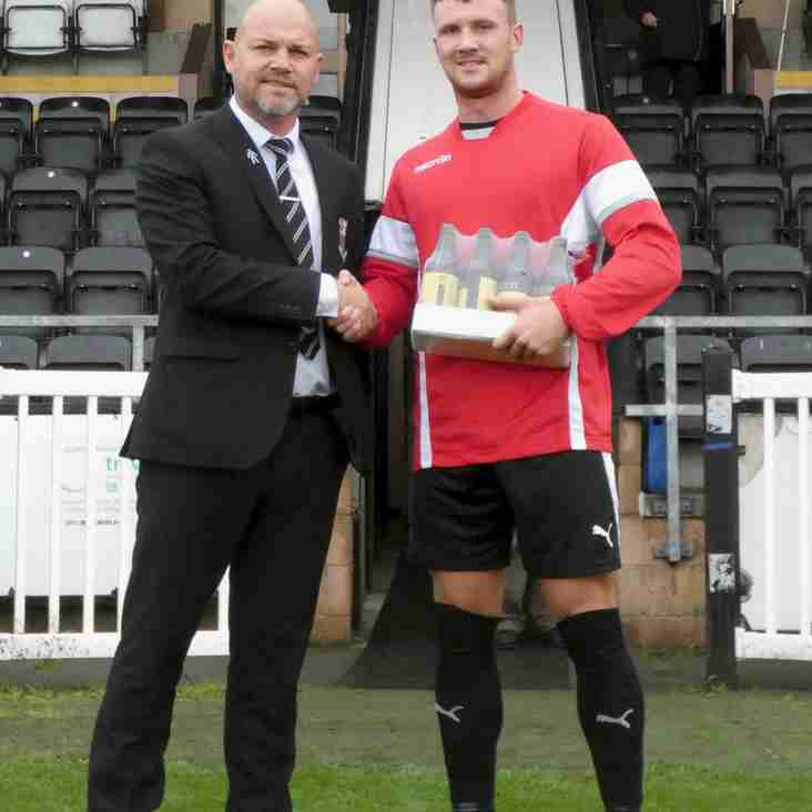 August Player of The Month: Brad Carsley