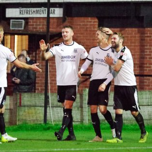 Bamber Bridge 3 -1 Colne
