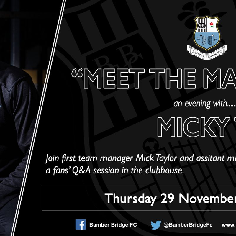 Meet The Manager - Fans' Q&A With Micky T