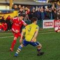 Warrington Town 2 - 0 Bamber Bridge (01/01/19)