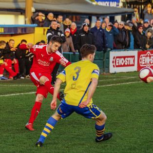 Warrington Town 2 - 0 Bamber Bridge (01/01/19)