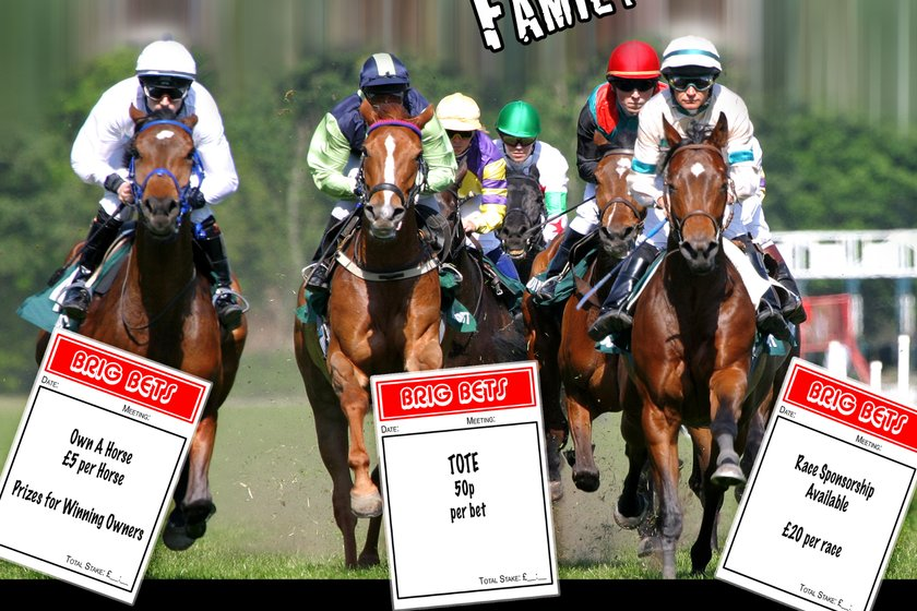 A Night At The Races - Family race night in the club house