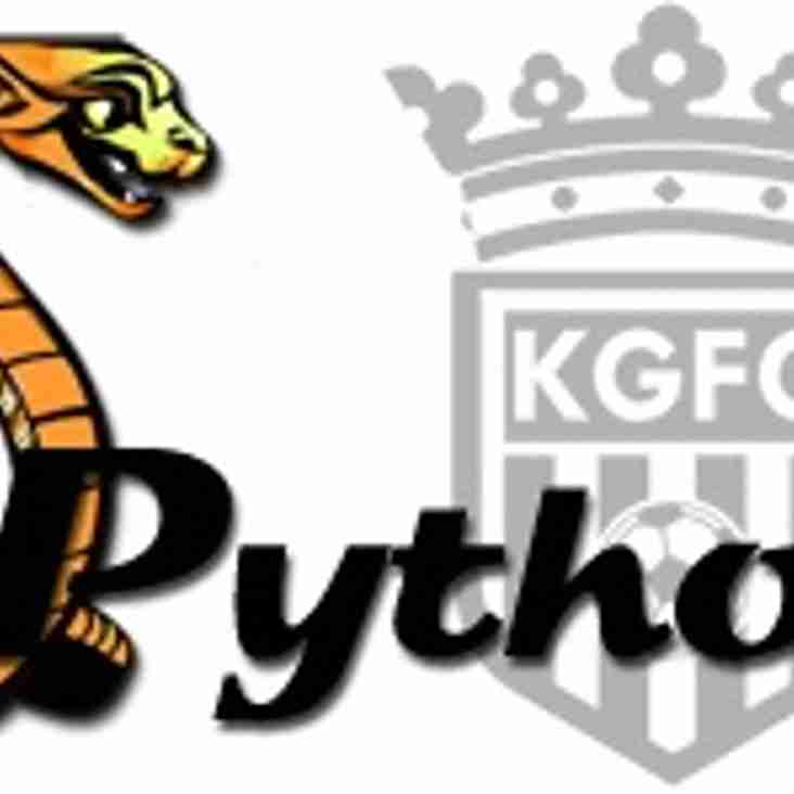 Under 13 Pythons are looking for Players