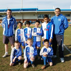 BJFC U8 Cubs Yellows at The GOre