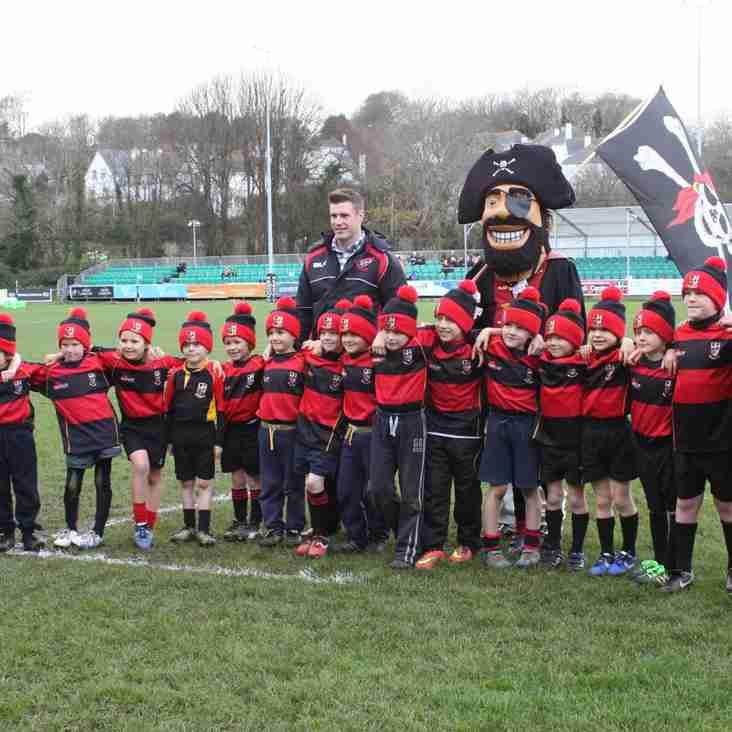 Cornish Pirates vs Plymouth Albion, Ladies Day.