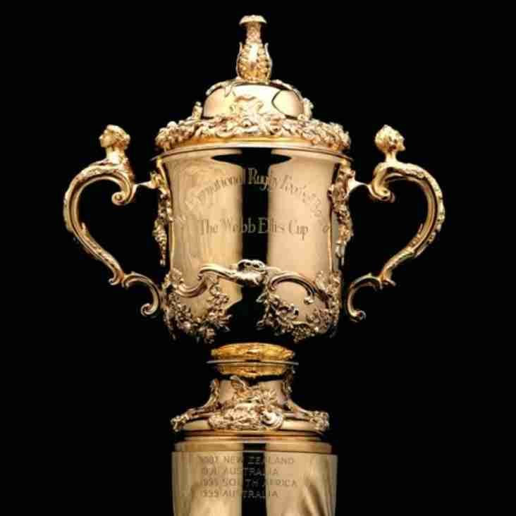 The winners of our RAFFLE to WIN 2 single tickets for the Rugby World Cup Final at Twickenham are...