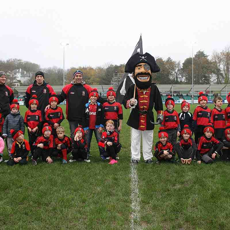 Cornish Pirates Tag Rugby Game