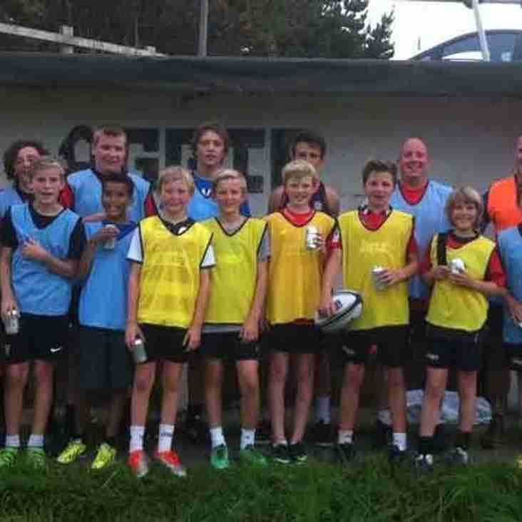Under 13 - Summer Touch Rugby starting on FRIDAYS!!