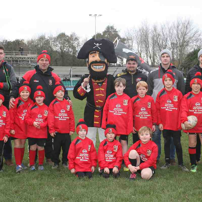 Minis @ Cornish Pirates