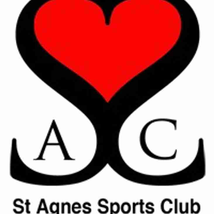 St Agnes Sports Club Battery Appeal - Please Vote and Share