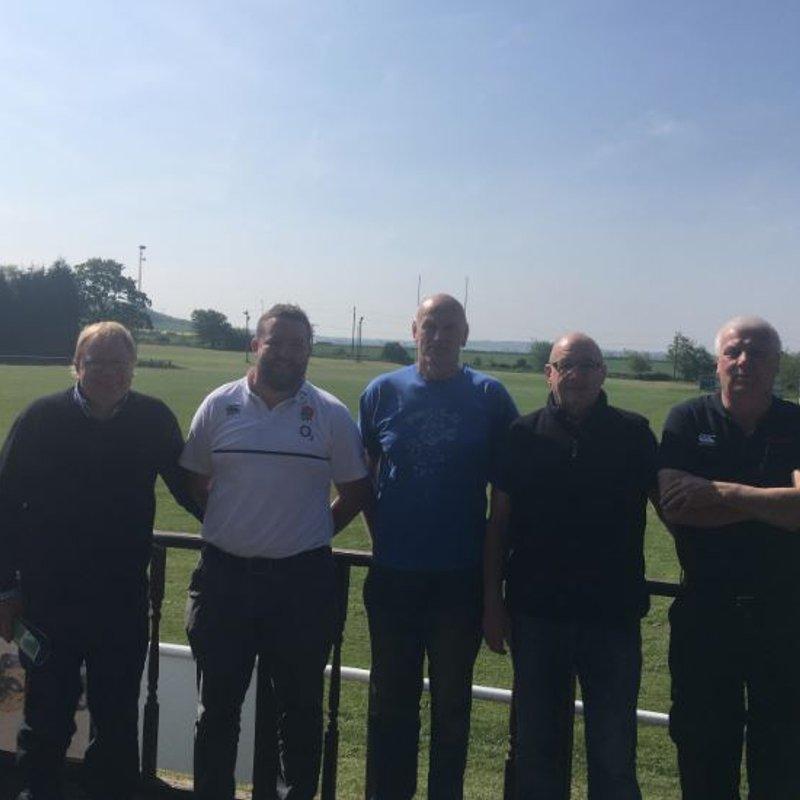 Twickenham Groundsman visits PRUFC