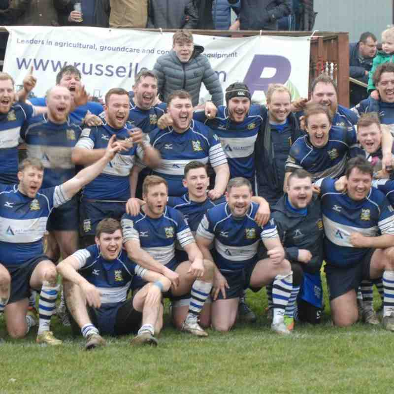 First V Roundhegians 17/18 Promotion winning Game