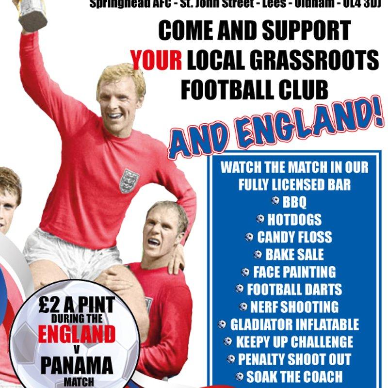 Springhead AFC World Cup Fun Day