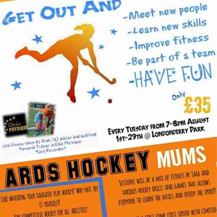 Mummy fitness and hockey