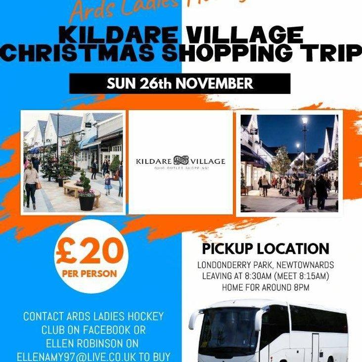 Xmas Shopping at Kildare Village<