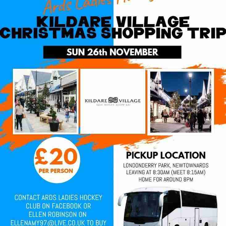 Xmas Shopping at Kildare Village