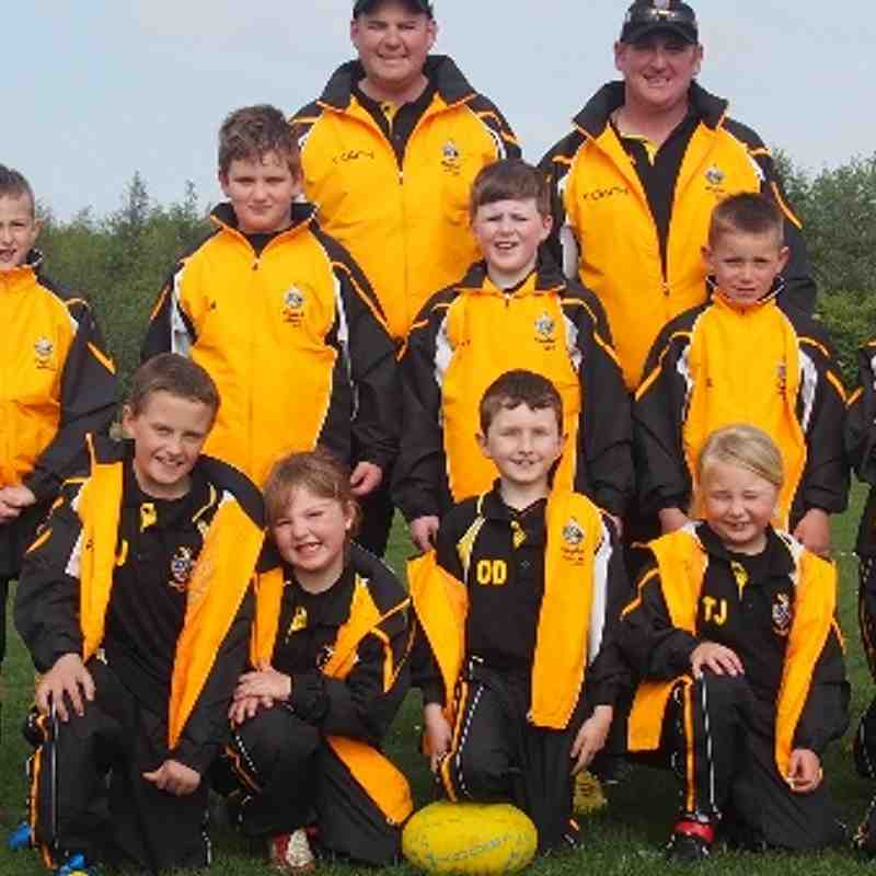 U8's looking cool in their new tracksuits
